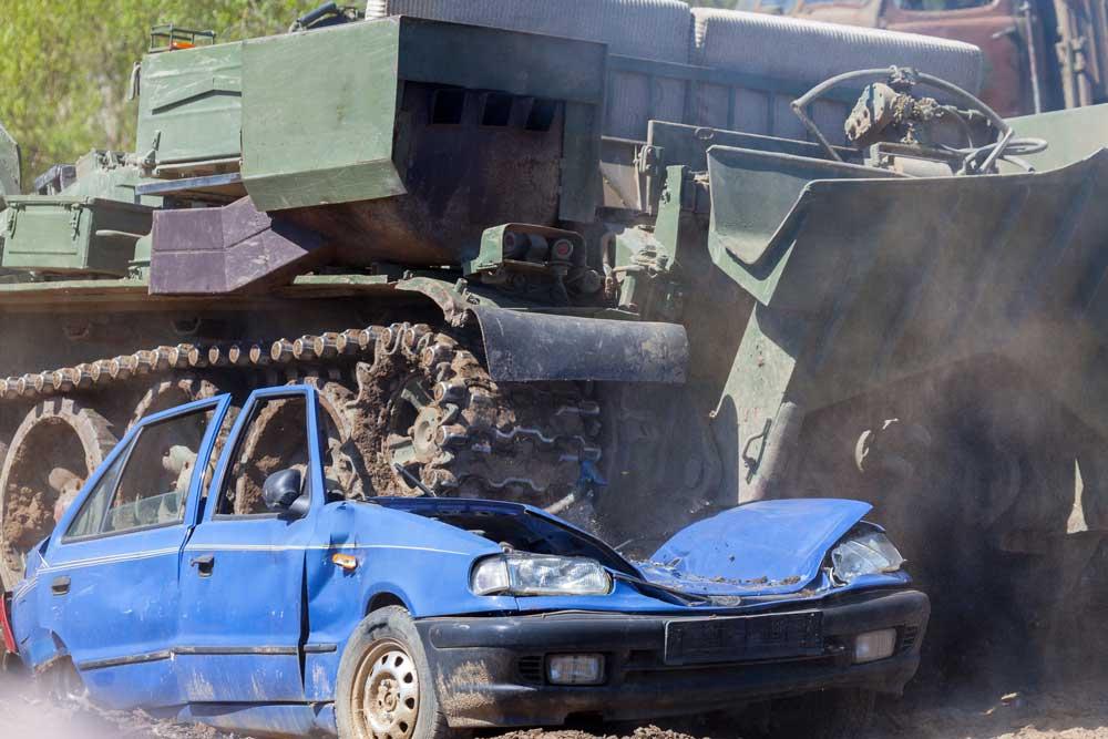 תביעת תאונת דרכים בצבא