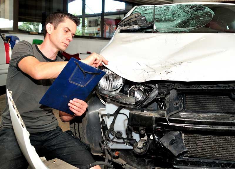 נזק רכוש לרכב לאחר תאונת דרכים