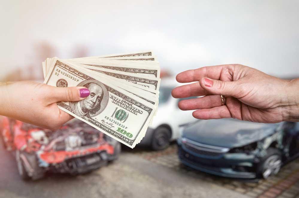 כמה פיצויים מקבלים על תאונת דרכים